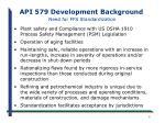 api 579 development background need for ffs standardization