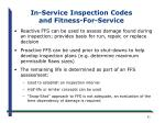 in service inspection codes and fitness for service1