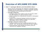 overview of api asme 579 200612