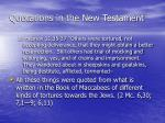 quotations in the new testament1