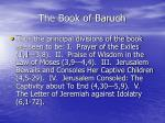 the book of baruch6