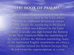 the book of psalms1