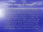the book of psalms5