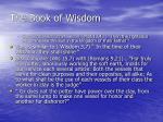 the book of wisdom6
