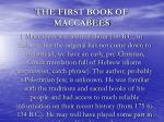 the first book of maccabees3
