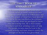 the first book of maccabees6