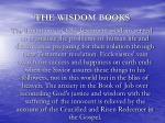 the wisdom books9