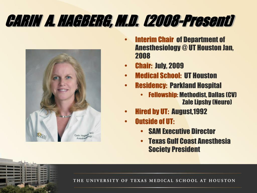 PPT - THE UNIVERSITY OF TEXAS MEDICAL SCHOOL AT HOUSTON