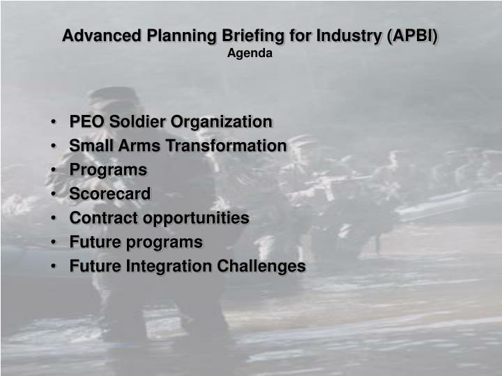 PEO Soldier Organization