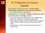 iii properties of mixture copulas2