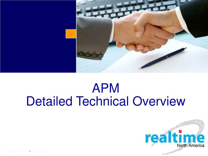 apm detailed technical overview n.