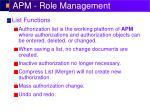 apm role management3