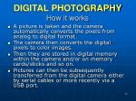digital photography how it works