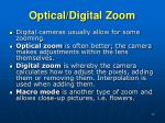 optical digital zoom