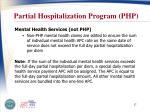 partial hospitalization program php2