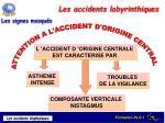 les accidents labyrinthiques1