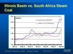 illinois basin vs south africa steam coal1