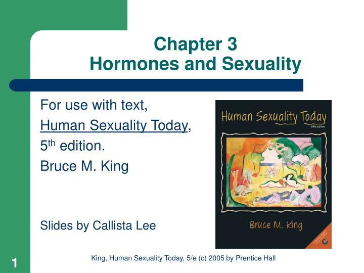 chapter 3 hormones and sexuality n.