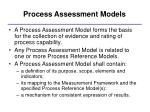 process assessment models