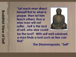 buddhist view of self