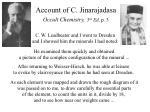 account of c jinarajadasa occult chemistry 3 rd ed p 3