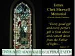 james clerk maxwell memorial corsock church dumfries