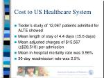 cost to us healthcare system