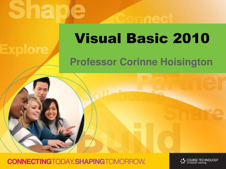 Visual basic 2010