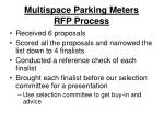 multispace parking meters rfp process1