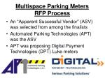 multispace parking meters rfp process2
