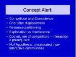 concept alert