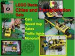lego dacta cities and transportation sets