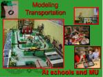 modeling transportation
