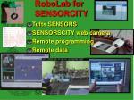robolab for sensorcity