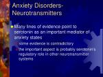 anxiety disorders neurotransmitters1