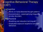 cognitive behavioral therapy cbt1