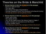 theories on the bride manchild