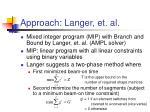 approach langer et al