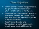class objectives1
