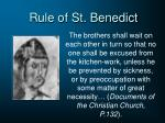 rule of st benedict1