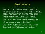 boastfulness