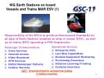 wg earth stations on board vessels and trains mar esv 1