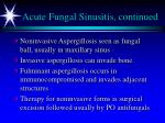 acute fungal sinusitis continued1