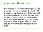 interpretation boat shore1