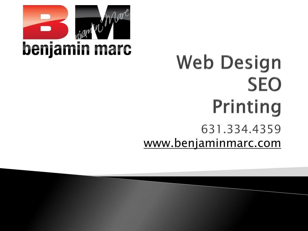web design seo printing