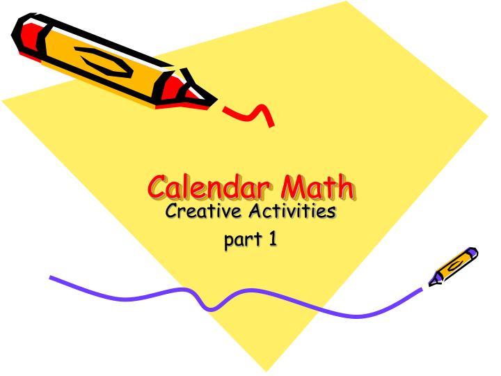 calendar math n.