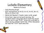 lasalle elementary rebecca prichard