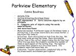 parkview elementary connie boudreau