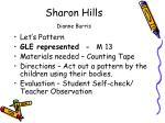 sharon hills dianne burris