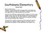 southdowns elementary karen doll